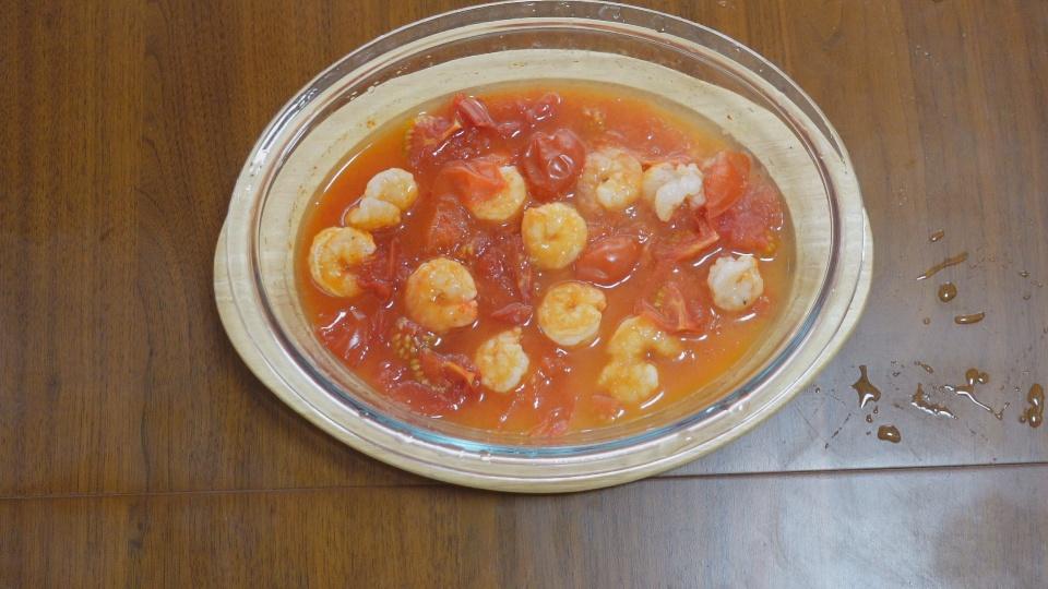 エビチリトマト