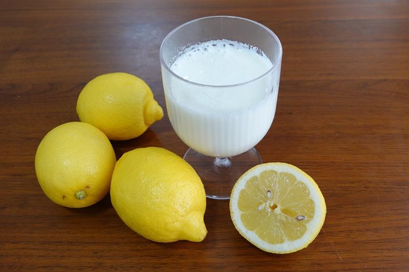 ガッテン流の「レモンラッシー」のレシピ