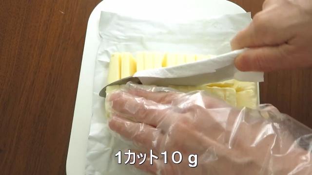 1カット10 g